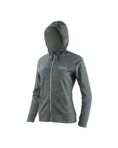 Huk Women's Hull Zip Fleece Hoodie