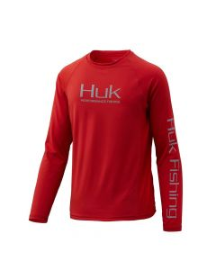 Huk Youth Pursuit Vented Long Sleeve Shirt