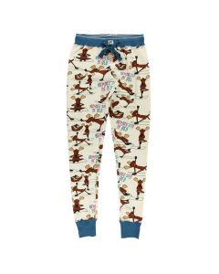 Lazy One Women's Na'Moose Stay Legging, Natural