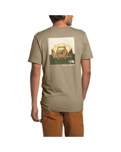 North Face Men's S/S Outdoor Free Tee Twill Beige