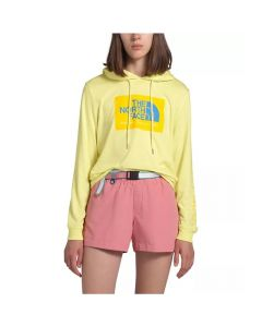 The North Face Women's 66 California Tri-Blend Pullover Hoodie Stinger Yellow Large