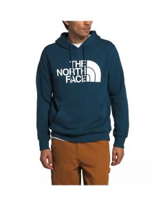 North Face Men's Half Dome Pullover Hoodie Blue Wing Teal