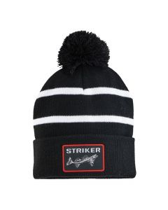 Striker Ice Striped Pom Hat