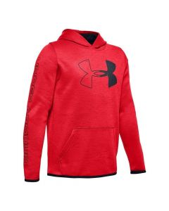 Under Armour Youth Fleece Branded Hoodie