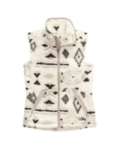 The North Face Women's Campshire Vest 2.0 White Geo Print