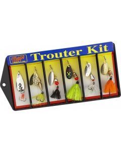 Mepps Hot Trouter Kit-6 Assorted
