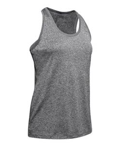 Under Armour Tech Tank Carbon Heather