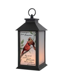 Carson Home Accents LED Flickering Lantern - My Spirit Will Live On Forever