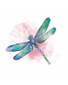 Carson Home Accents Dragonfly Car Coaster