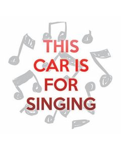 Carson Home Accents Car for Singing Car Coaster