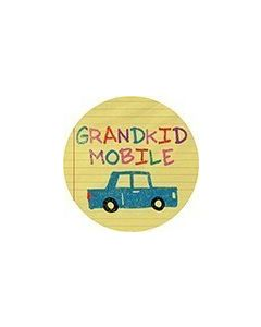 Carson Home Accents Car Coaster - Grandkid Mobile