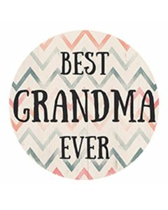 Carson Home Accents Best Grandma Ever Car Coaster