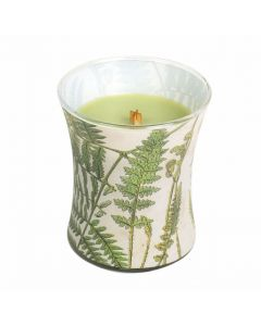 Woodwick Decal Candle Fern