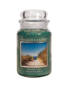 Village Candle Large Jar Scented Candle - Secluded Dunes