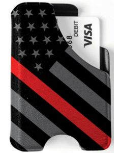 Mission First Tactical Red Line American Flag Wallet