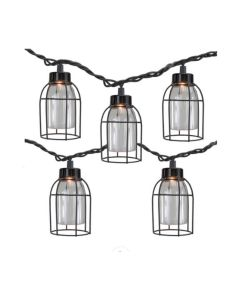 Willow Street Designs Edison Bulb Cage String Lights