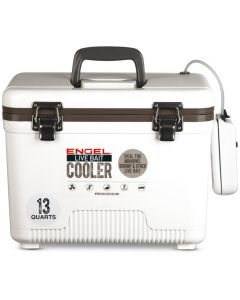 Engel Live Bait Drybox/Coolers with 2 Speed Aerator Pump and Net