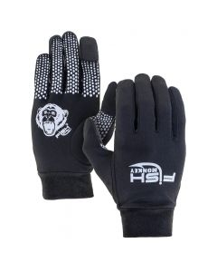Fish Monkey Hands Glove Liner L/XL Black