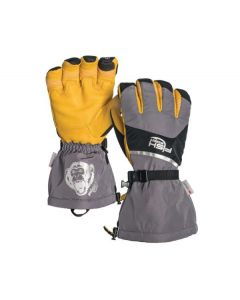 Fish Monkey Yeti Series Full Finger Glove Gray/Blk