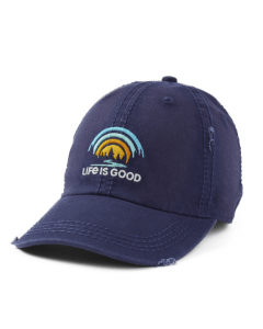 Life Is Good Forest Rainbow Chill Cap