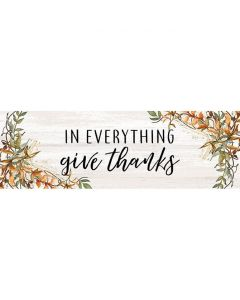 Carson Home Accents Message Bar - Give Thanks