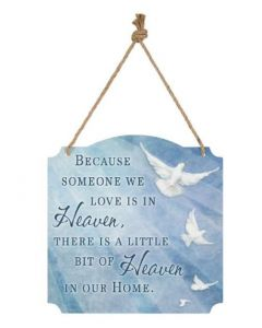Carson Heaven in Our Home Metal Sign