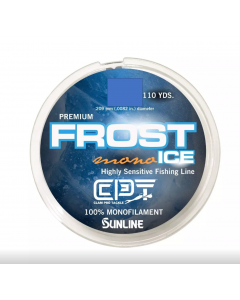 Clam Frost Ice Monofilament Fishing Line - 110 yds.