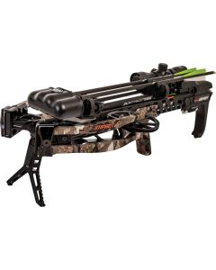 Bear Archery Impact Crossbow - Speed: 415 FPS, Draw Weight: 185LBS, Color Truetimber Strata