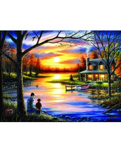 SunsOut Father and Son Puzzle