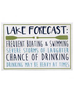 Willow Street Designs Lake Forecast Wall Sign