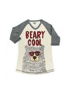 Lazy One Beary Cool Women's Tall Tee