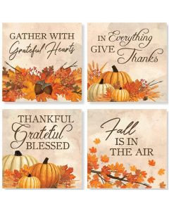 Carson Home Accents Coasters - Fall Leaves