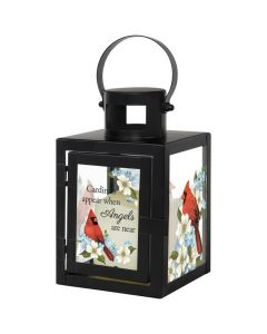 Carson Home Accents LED Lantern - Cardinals Appear When Angels Are Near