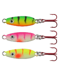 Northland Forage Minnow Spoon 1/8 oz. Assorted 3 Pack
