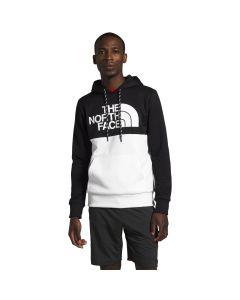 The North Face Men's Surgent Bloc Pullover Hoodie Black High Rise Grey