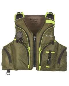 Absolute Onyx Pike Paddle Sports Life Vest Green