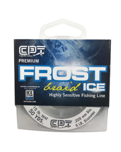 Clam Frost Ice Braid Fishing Line - 50 yds.