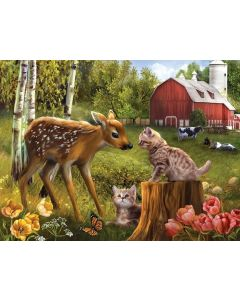 SunsOut - 500 Piece - Want to be Friends Puzzle