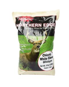 Ideal Northern Edge Chicory-White Clover Food Plot Seed - 9 LB