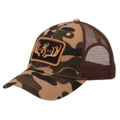 Browning Racked Cap Meshback Brown/Camo