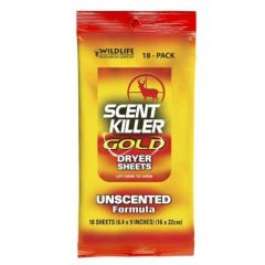 Wildlife Research Scent Killer Gold Dryer Sheets