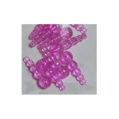 Mack's Lures WR Tapered Beads Flo Cerise