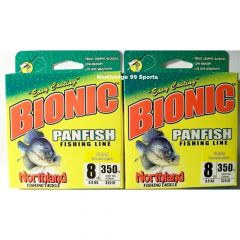 Northland Tackle Bionic Ice® Panfish Line - 8 LB. - Clear