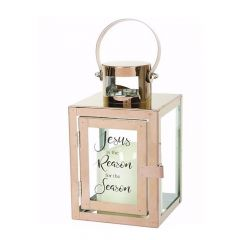 Carson LED Candle Lantern Jesus is the Reason for the Season