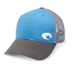 Costa Offset Logo HD Trucker Hat Costa Blue