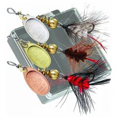 Mepps Wooly Worm Trout-Pack of 3 (Black)