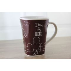 Ollee Bee Color Changing Porcelain Story Mug - Dad