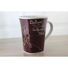 Ollee Bee Color Changing Porcelain Story Mug - Believe