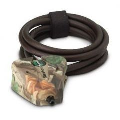 Stealth Cam Python Adjustable Lock w/6 Foot Cable - Camo