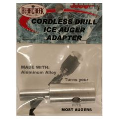 Bear Creek Cordless Drill Ice Auger Adapter